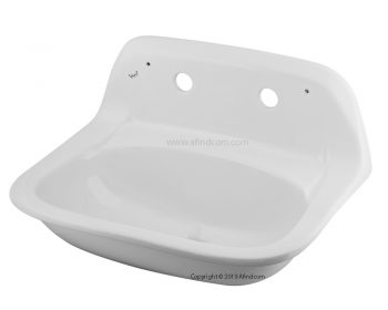 vaal medical basin hygia only 703611WH ceramic wall hung