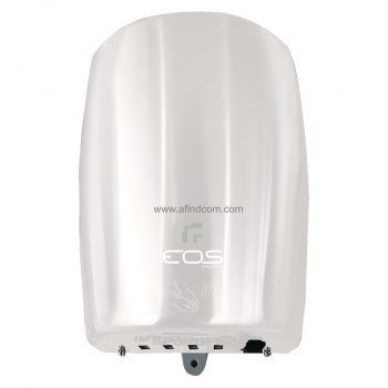 white energy efficient hand dryer