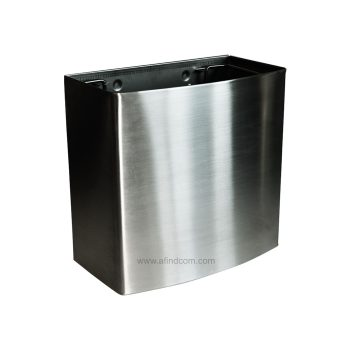 18L stainless steel wall hung waste bin