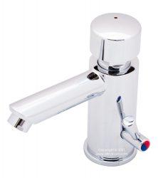 Calderoni metered basin mixer commercial tap