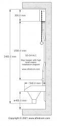 slop hopper high level cistern installation diagram