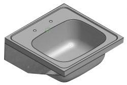 single bowl medical ward sink stainless steel 2620259